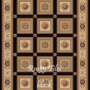 RUMI-35 Tiles Black