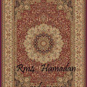 RUMI-4 Hamadan Red Cream