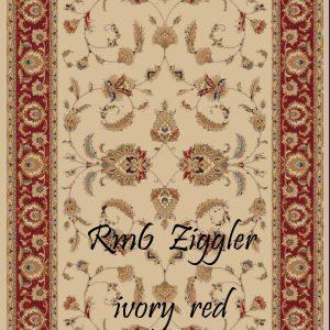 RUMI-6 Ziggler Ivory Red