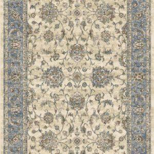 HAFIZ ENCORE-Shah Abbasi Ivory Blue